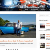 Blue's ArtHouse Redesigns Website for Doug Jenkins Garage