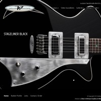 New WordPress Site for Weller Guitars