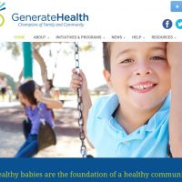 Blue's ArtHouse Builds New Website for GenerateHealth