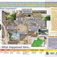 Sign Design for Fort Belle Fontaine Park