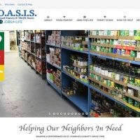 New Website for OASIS Food Pantry Now Online