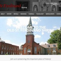 Welcome Aboard to Old St. Ferdinand Shrine in Florissant, MO