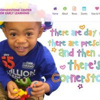 Cornerstone Center for Early Learning Website Redesign Completed