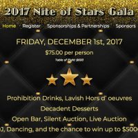 Nite Of Stars Event Website Hot Off the Press!