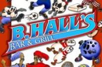 B.Halls Restaurant Menu