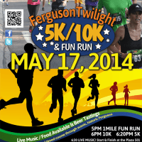 Poster for Ferguson Twilight Run