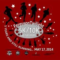 Tee Shirt Design for Ferguson Twilight Run