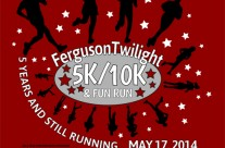 Tee Shirt Design for Ferguson Twilight Run