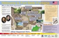 Sign Design for Fort Belle Fontaine Park