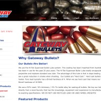 New Website for Gateway Bullets Now Online!