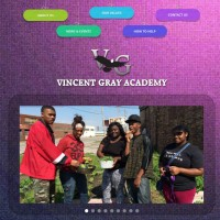 Vincent Gray Academy Website Now Live