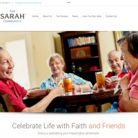New Website for The Sarah Community Just Finished