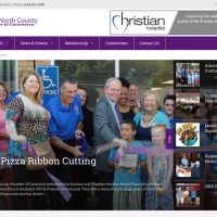 Blue's ArtHouse Unveils Brand New Site for Greater North County Chamber of Commerce