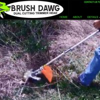Blue's ArtHouse Rolls Out Website and Logo for Brush Dawg Trimmer