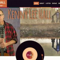 Kenny Lee Hall Music Website Just Finished