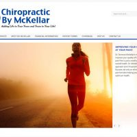 Chiropractic by McKellar Redesign Now Online