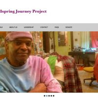 Blue's ArtHouse Maintaining Wellspring Journey Project Website