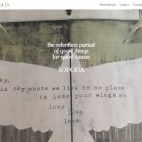 Website for Sopoeia Now Online