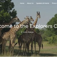 New Website for Explorers Club of St. Louis Complete
