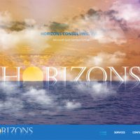 New Website for Horizons Consulting Now Live