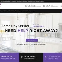 Website Redesign for ASAP Appliance Repair is Now Ready for Action